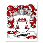 Neumayer Family Crest Small Poster