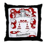 Neumayer Family Crest Throw Pillow