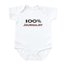 100 Percent Journalist Infant Bodysuit