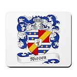 Nissen Family Crest Mousepad
