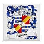 Nissen Family Crest Tile Coaster