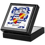 Nissen Family Crest Keepsake Box