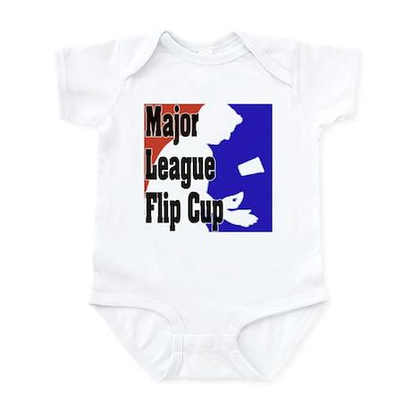 """""""Major League Flip Cup"""" Infant Bodysuit"""