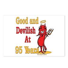 Devilish at 95 Postcards (Package of 8)