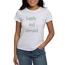 Supply and Demand Tee
