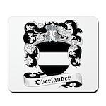 Oberlander Family Crest Mousepad
