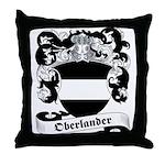 Oberlander Family Crest Throw Pillow
