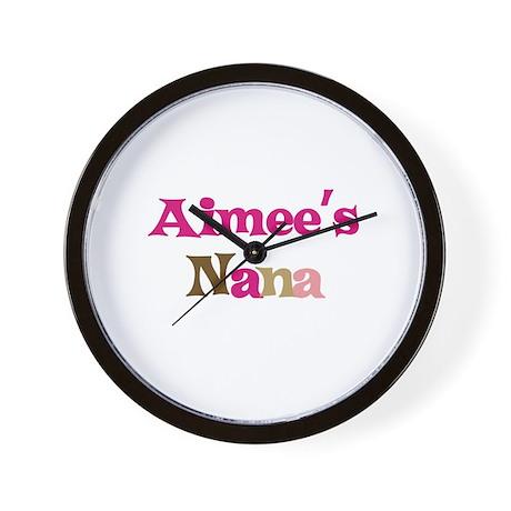 Aimee's Nana Wall Clock