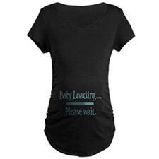Blue Baby Loading Please Wait T-Shirt