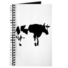 Silhouette Cow Journal
