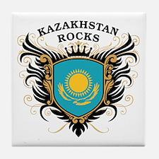 Kazakhstan Rocks Tile Coaster