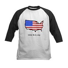 730 USA Flag Outline Tee