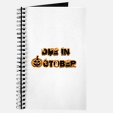 Orange Pumpkin Due October Journal
