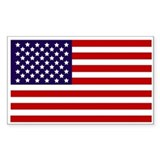 American flags Single