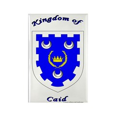 Kingdom of Caid Rectangle Magnet (100 pack)