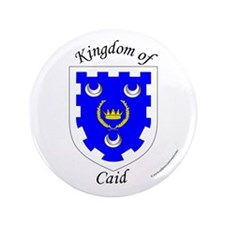 "Kingdom of Caid 3.5"" Button"