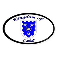 Kingdom of Caid Oval Decal