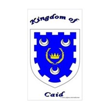 Kingdom of Caid Rectangle Sticker