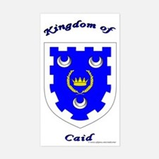 Kingdom of Caid Rectangle Decal