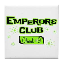 Emperors Club Client 9 Tile Coaster
