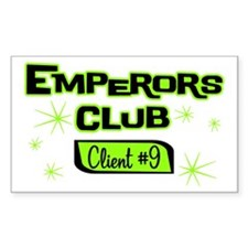 Emperors Club Client 9 Rectangle Decal