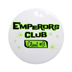 Emperors Club Client 9 Ornament (Round)