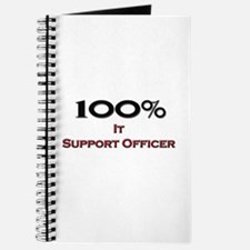 100 Percent It Support Officer Journal