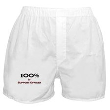 100 Percent It Support Officer Boxer Shorts