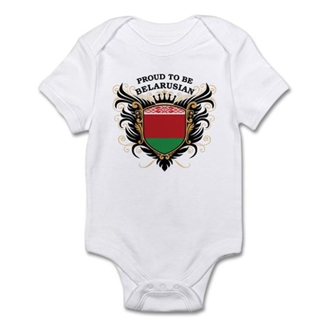 Proud to be Belarusian Infant Bodysuit