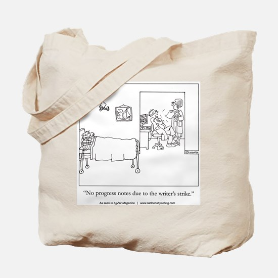 Writers Strike Tote Bag