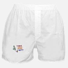 Laura Kicks Butt Boxer Shorts
