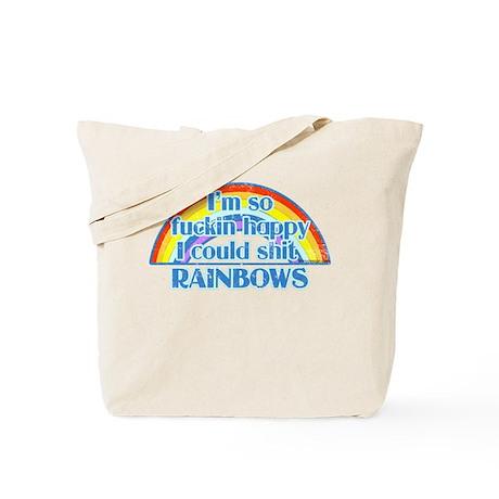 Happy Rainbows Tote Bag