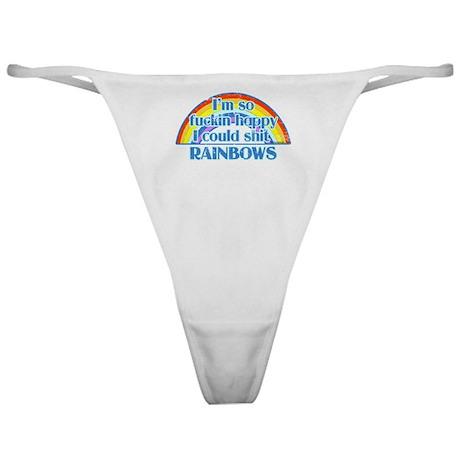Happy Rainbows Classic Thong