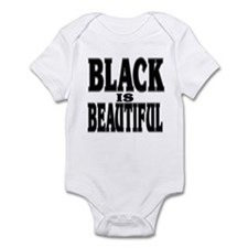 BLACK IS BEAUTIFUL Infant Bodysuit