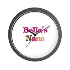 Bella's Nana Wall Clock