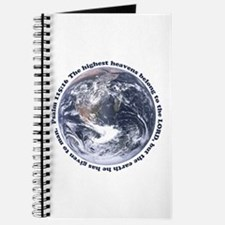 Religious Earth Day Journal