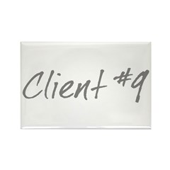 Client #9 Rectangle Magnet (10 pack)