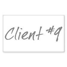 Client #9 Rectangle Decal