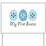 My First Easter Yard Sign