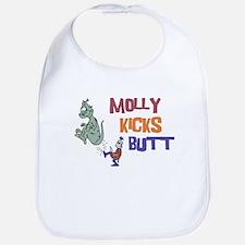 Molly Kicks Butt Bib