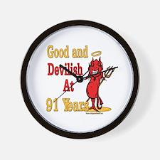 Devilish at 91 Wall Clock
