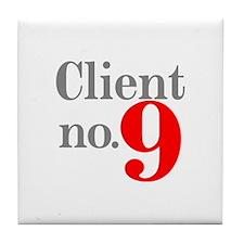 Client 9 Tile Coaster