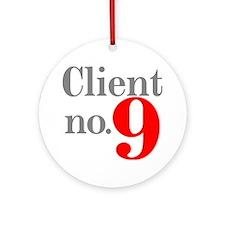 Client 9 Ornament (Round)