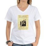 Bill and Bull Women's V-Neck T-Shirt