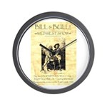 Bill and Bull Wall Clock