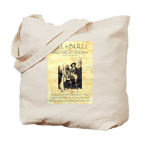 Bill and Bull Tote Bag