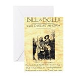 Bill and Bull Greeting Card