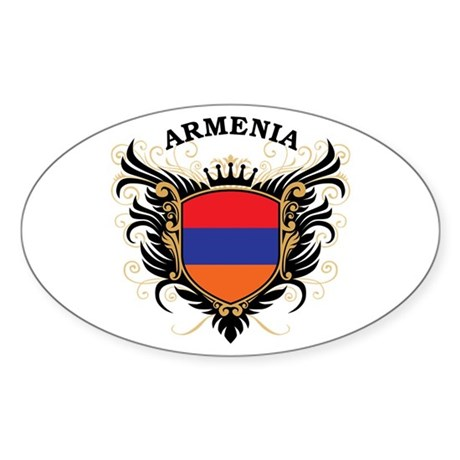 Armenia Sticker (Oval)