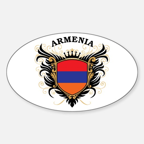 Armenia Sticker (Oval)