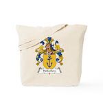 Heberlein Family Crest Tote Bag
